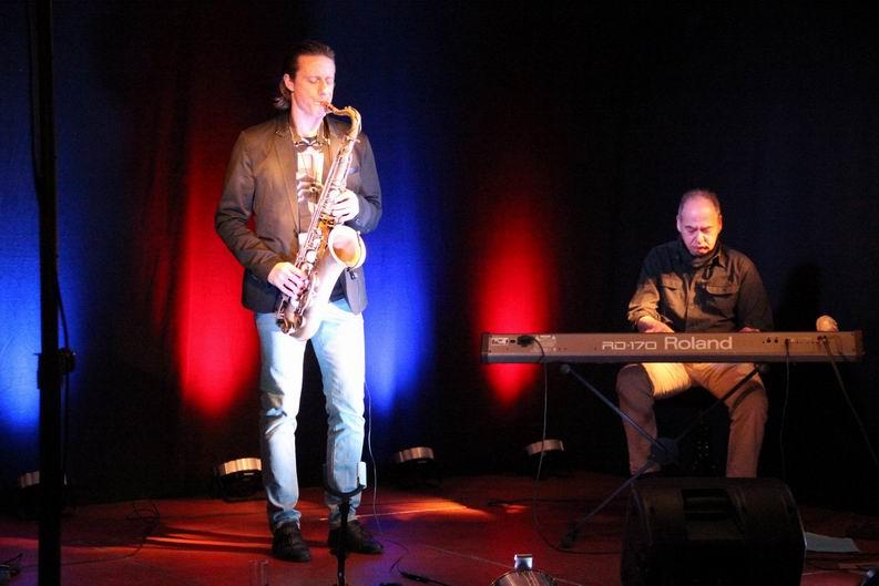 """6.3.2016 – """"Sax as Sax Can""""  –  Jazz mit zwei  Ausnahmemusikern im Beverhof"""