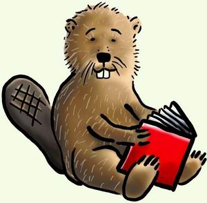Mittwoch, 10. April, 17.15 Uhr, Bücherei St. Ambrosius: Lesebibervorlesezeit für Kinder von 4 bis 7 Jahren