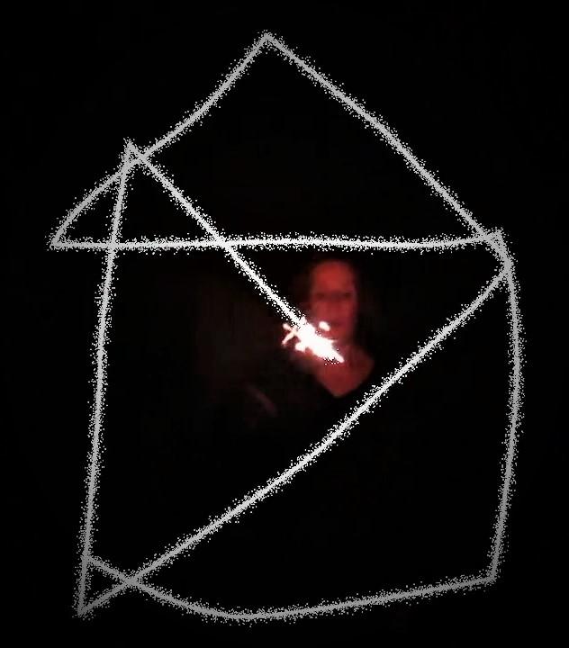 """bis zum 1. Januar, Installation in """"la folie"""": Luzia-Maria Derks – """"Das ist das Haus…"""""""